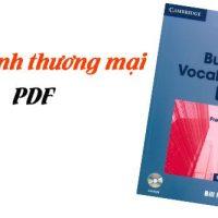 tiếng Anh thương mại pdf